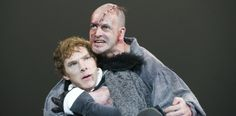 The Sherlocks: Benedict Cumberbatch and Johnny Lee Miller on stage in Frankenstein. Gods, how cool is that? Nerd nirvana.