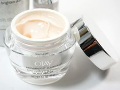 Olay Regenerist Luminous Tone Perfecting Cream- smells amazing  works even better!