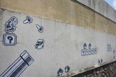 Super Mario Bros. Wall Art in France - photo byMa Lau