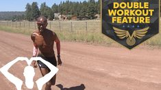 HOW I TRAIN | MO FARAH DOUBLE WORKOUT FEATURE | TRAINING IN FLAGSTAFF - YouTube