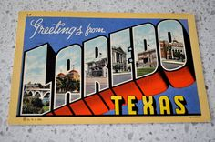 Laredo, TX....Where everything kicked off for my other half and I ;)