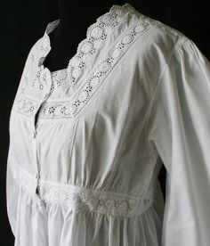 victorian nightgown pattern - Google Search