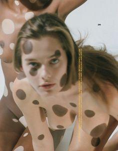 Solveig Mork Hansen & Ebonee Davis by Brianna Capozzi for Marfa Journal No.5…