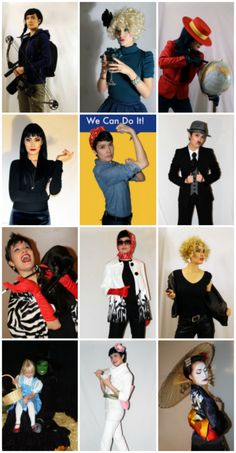 12 Halloween Costumes from Your Closet