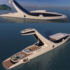 Luxury yacht design interior trip sailing and having private party on super mega boat life style for vacation and wedding on deck with style ond model of black and etc Yacht Luxury, Best Luxury Cars, Luxury Travel, Super Yachts, Yacht Design, Boat Design, Rich Kids Of Instagram, Instagram News, Yacht Boat