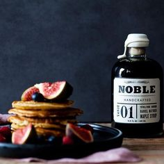 Noble Handcrafted 01 Tonic is dark grade maple syrup aged in Tuthilltown bourbon barrels - there is no better maple syrup than Noble Handcrafted. Buy online through our website or contact us for wholesale enquirers through  sales@productdistribution.com.au