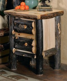 Delicieux Lakeland Carved Cedar Log Bed   Option For Bear Carvings | Bear Decor |  Rustic Log Cabin Furniture | Bear Themed Furniture U0026 Decor | Pinterest | Log  Cabin ...