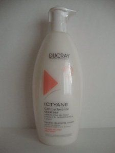 Ducray Ictyane Gentle Cleansing Cream 500ml by Ducray. $14.98. Body hygiene of the dry skins dry.. Soap-free, physiological pH.. Face and body.. Ducray Ictyane Gentle Cleansing Cream is a hygiene care for face and body. Its melting cream-coloured texture changes into a creamy foam in contact with water. Its extremely soft cleaning agents clean skin without attacking it.The protective supergreasy complex, enriched in carthame oil, preserves the cutaneous balance nd preven...