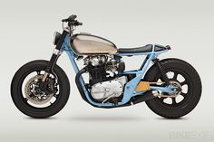 Yamaha XS650 customs but with peanut butter seat!