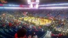 New Orleans Pelicans basketball game at Smoothie King Center in New Orleans, LA.