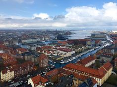 When you climb up the spire stop the Church of Our Saviour in Copenhagen (see my last post) you get the most amazing view of this Danish city. A must do if you're ever visiting!