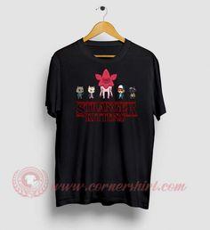 Stranger Kitten Custom Design T Shirts Custom T, Custom Design, Stranger Things Shirt, Custom Made T Shirts, How To Make Tshirts, Movie T Shirts, Cheap Shirts, Shirt Price, Outfit