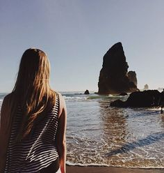 "Anyone in favor of having a beach even closer to Portland say ""aye""? #cannonbeach #summer #babycomeback"