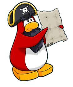 outro famoso do club penguin esse é o rockhopper.