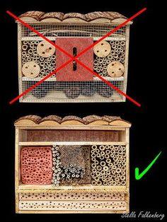 Selbst das typische Baumarktgrauen, läßt sich in eine funktionierende Insektennisthilfe umbauen (Nisthilfe, Insektenhote,  insect hotel, insect nesting aid) pollinator bug house