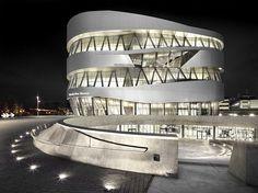 3inches:    Mercedes-Benz Museum, UN Studio, Stuttgart, Germany