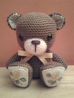 Goldie Bear  - Crochet creation by Sherily Toledo's Talents