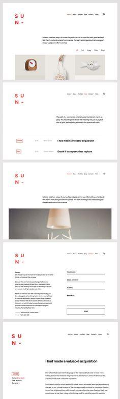Sun - WordPress Theme. WordPress Portfolio Themes. $29.00