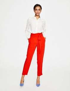 ca6bf215fa98 How to wear new Spring trousers - four pairs shown two ways