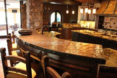 Custom Copper Countertop