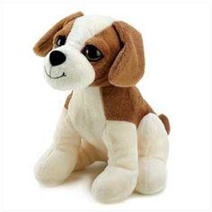 Cuddly Puppy Plush