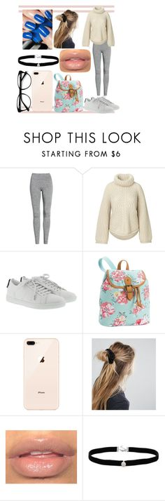 """""""nerd section#2"""" by keeleyndcorban on Polyvore featuring Treasure & Bond, Yves Saint Laurent, PBteen, ASOS, Amanda Rose Collection and EyeBuyDirect.com"""