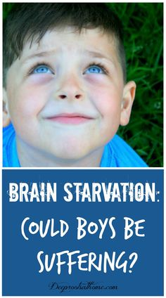 Brain Starvation: Could Boys Be Suffering?Brain Starvation: Could Boys Be Suffering? A happy, young, smiling boy with blue eyes looking up to the sky! Parenting Teens, Single Parenting, Parenting Advice, Anxiety And Anger, Teaching Boys, Adhd Diet, Autism Diet, Thing 1, Raising Boys
