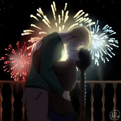 Happy New Year by Almei #Alphonse #Mei