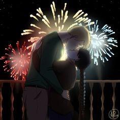 Happy New Year by Almei #Alphonse #Mei
