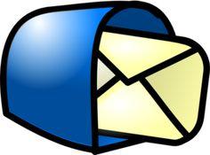 You Got Mail Blue clip art