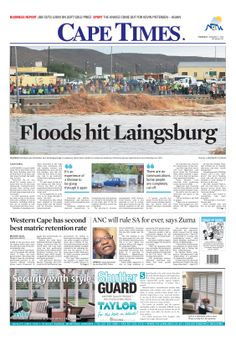 News making headlines: Floods hit Laingsburg