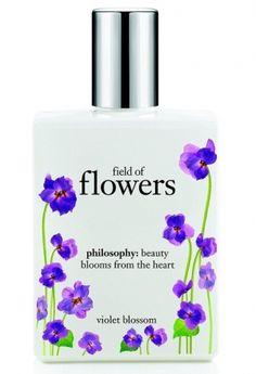 Field of Flowers Violet Blossom Philosophy for women