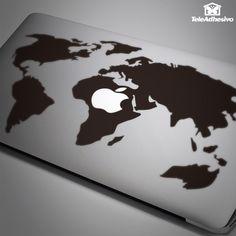 Autocollants Carte du monde