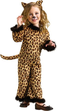 Pretty Leopard Toddler Costume from BuyCostumes.com