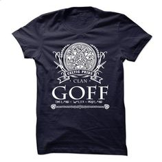 GOFF Celtic Pride - design your own t-shirt #sweatshirt upcycle #burgundy sweater