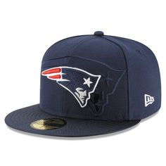New Era New England Patriots Navy 2016 Sideline Official Fitted Hat in  Sports Mem f5226c2aaf9