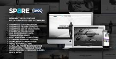 Spare - Ultimate MultiPurpose LESS Theme - Creative WordPress