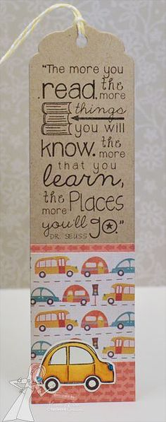 """The more you read, the more things you will know. The more that you learn, the more places you'll go."" -Dr. Seuss"