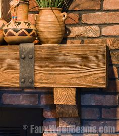 tile for fireplace surround with old beam mantle   Fireplace Mantels
