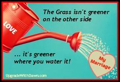 Want joy in your marriage? Water it with LOVE! Love unconditionally, sacrificially, joyfully. In other words, love your spouse like Jesus loves you!