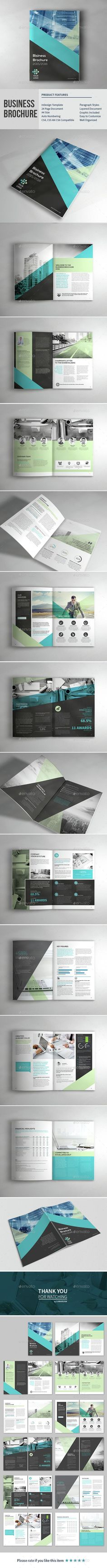 Business Corporate Brochure Template InDesign INDD. Download here: http://graphicriver.net/item/business-corporate-brochure/15241933?ref=ksioks: