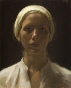 """Cornelia Hernes (Norway studied in The Florence Academy of Arts. Self portrait 2007 Painting"" Portrait Images, Oil Portrait, Female Portrait, Christian Morgenstern, Florence Academy Of Art, People Art, Figure Painting, Face Art, Contemporary Paintings"
