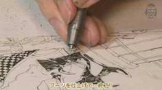 ULTRADRAWING Miwa Shirow #08.flv, via YouTube.