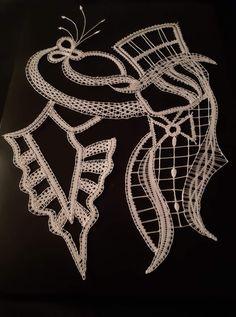 Lip Stencil, Stencils, Bobbin Lace, Silhouettes, Needlepoint, Pretty, Lace, Livres, Board