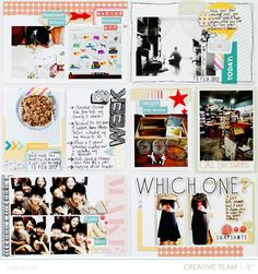 Project Life | Week 7It's the time of the month again and I'm back with another update on my Project Life spread! :)I have to admit that I'm surprised at being able to keep up with my Project Life to date. I thought it would be much more difficult than I expected but I think I got into the…