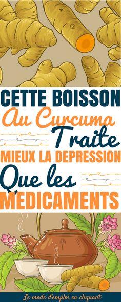 En fait, l'une des choses les plus intéressantes dans le curcuma, c'est qu'il peut traiter les troubles dépressifs majeurs.   C'est vraiment une très bonne nouvelle ! Beaucoup de médicaments utilisés pour lutter contre la dépression ont des effets secondaires assez graves, comme des difficultés à respirer ou des pensées suicidaires.  Dans une étude récente publiée dans la revue Phytotherapy Research . Phytotherapy Research, le curcuma...#santé #curcuma #depression #chasseursdastuces