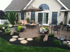 stamped concrete patio designs | ... including patios, walkways, benches, countertops, fireplaces and more