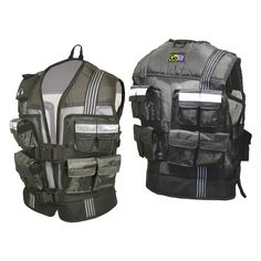 GoFit Adjustable Weighted Pro-Vest - GF-PV20