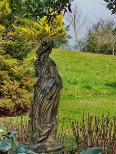 Loneliness, statue in the gardens of the Tower of Cira