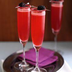 champagne velvet with blackberry